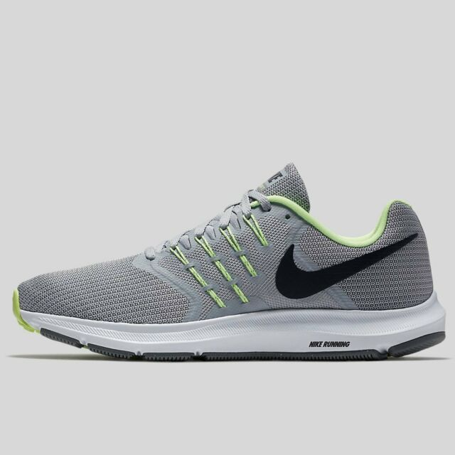 3eca58055524d Nike Run Swift Mens Running Shoes Size 8 Cool Grey   Black - Volt - White