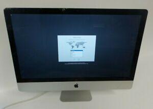 "Apple iMac 27"" ME088LL/A 2013 9 i5-4570 3.2GHz 16GB RAM 1TB HDD MAC OS 10.13 C"