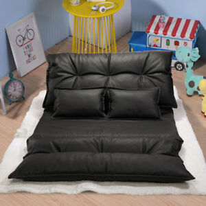 Modern-Foldable-Leisure-Sofa-Bed-Adjustable-Video-Gaming-Sofa-with-2-Pillows