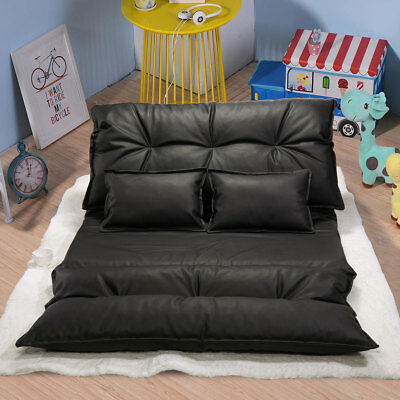 Terrific Modern Foldable Leisure Sofa Bed Adjustable Video Gaming Sofa With 2 Pillows 657228129091 Ebay Uwap Interior Chair Design Uwaporg