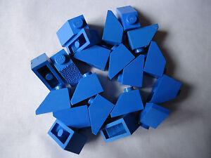 LEGO partie bleu 3040 45. 2 x 1 pentes x 20  </span>