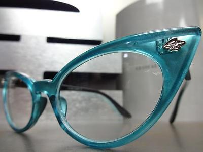 CLASSIC VINTAGE RETRO Unique CAT EYE Style Clear Lens EYE GLASSES Fashion Frame