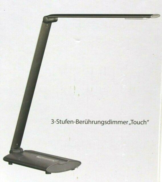 Honsel Leuchten Lampe de Bureau Table Signe Anthracite LED Tactile 97021