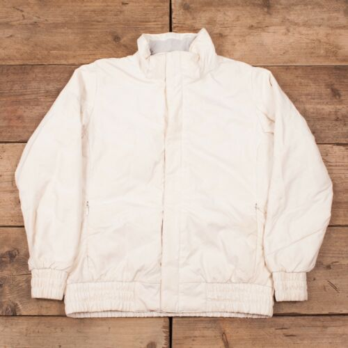 600 Puffer Down Face Vintage 12 White R10963 North Womens Large Goose Jacket x0ZRIqTnn