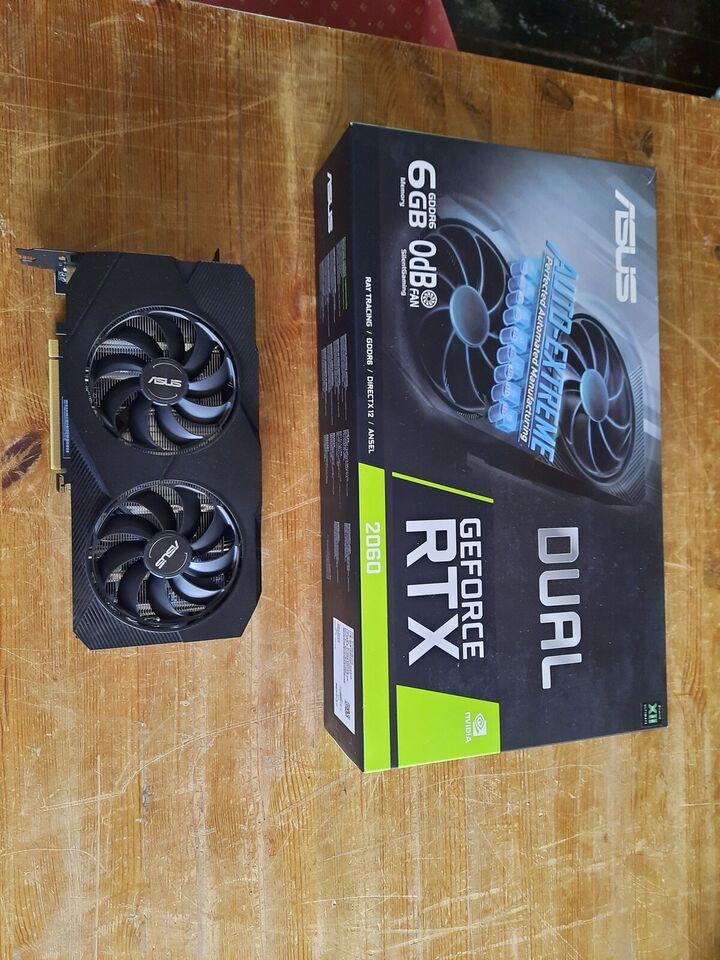 RTX 2060 Asus, 6 GB RAM, Perfekt