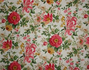 rose fabric shabby chic cottage roses fabric by the yard quilting rh ebay com cottage rose fabric collection rose cottage fabric by clothworks