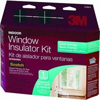 3m 84 W X 237 H Indoor Window Clear Insulation Kit Tape Included 2149w-6