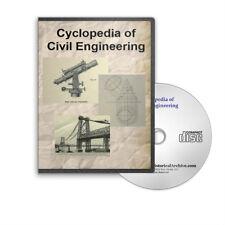Cyclopedia of Civil Engineering 8 Volume Set on CD - D221