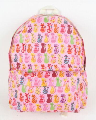 Lovely Cat Backpack Women Girl Travel Fashion Campus Bookbag Rucksack Schoolbag