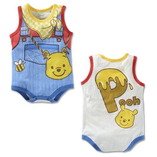 Baby Mickey Sleeveless Romper Sleepsuit Boys Girls Fancy Dress Jumpsuit Outfits