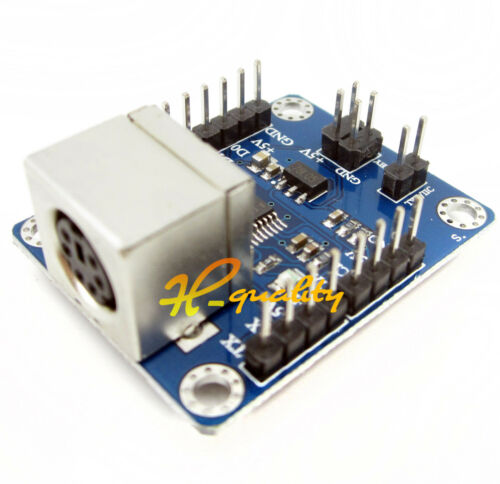 2PCS PS2 Keyboard Driver Module Serial Port Transmission Module arduino AVR hot