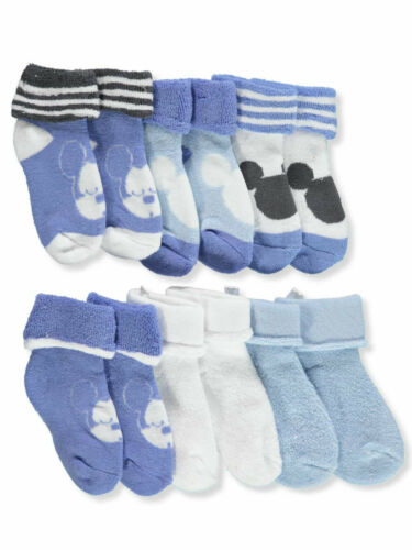 Disney Mickey Mouse Baby Boys/' 6-Pack Ankle Socks