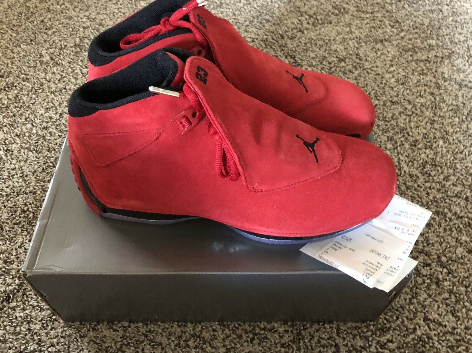 Jordan Retro 18 toro tamaño Air 11