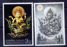 Thailand MNH 2v, Religion, God, Idol, Ganeshji Statue - E1