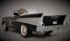 1957 Chevy Pedal Car Vintage BelAir Hot Rod Sport Custom Midget Metal Model Rare