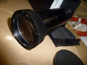 Projector-lens-SLIDE-KODAK-RETINAR-f-180mm-screw-thread-50mm-black-case-G6