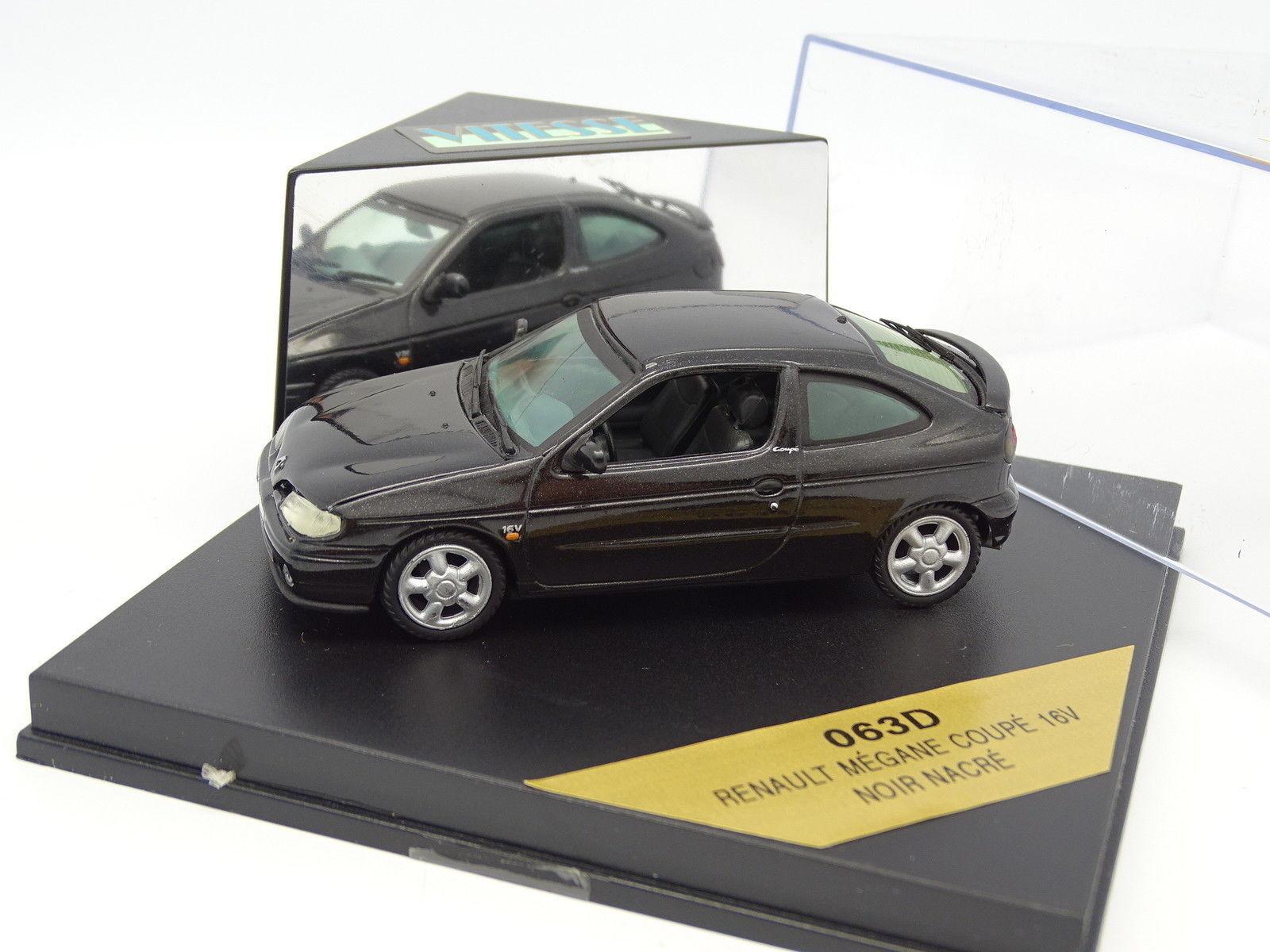 Vitesse 1 43 - Renault Megane coupé 16V 16V 16V schwarz fb5158