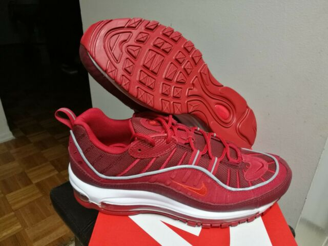 Nike Air Max 98 SE Team Red Gym Red   White Ao9380-600 Size 9 US for ... 58336c4d6