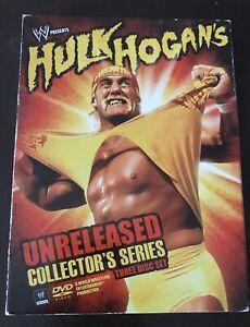 WWE Hulk Hogan's Unreleased Collector's Series 3 Disc Set DVD ...