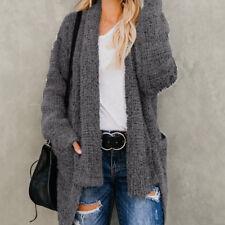 f098379046 item 1 Women Long Sleeve Knitted Soft Coat Cardigan Sweater Pocket Outwear  Coat Jacket -Women Long Sleeve Knitted Soft Coat Cardigan Sweater Pocket  Outwear ...