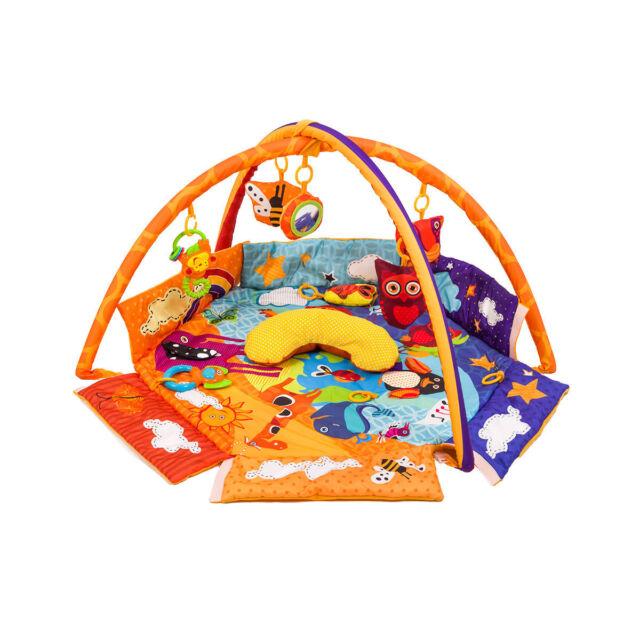 KinderKraft Animals Planet Spieldecke