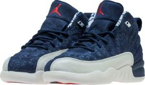 new product 03d60 a7837 Details about KIDS AIR JORDAN 12 RETRO PREMIUM PS JAPAN BV8018 445 COLLEGE  NAVY BLUE/WHITE/RED