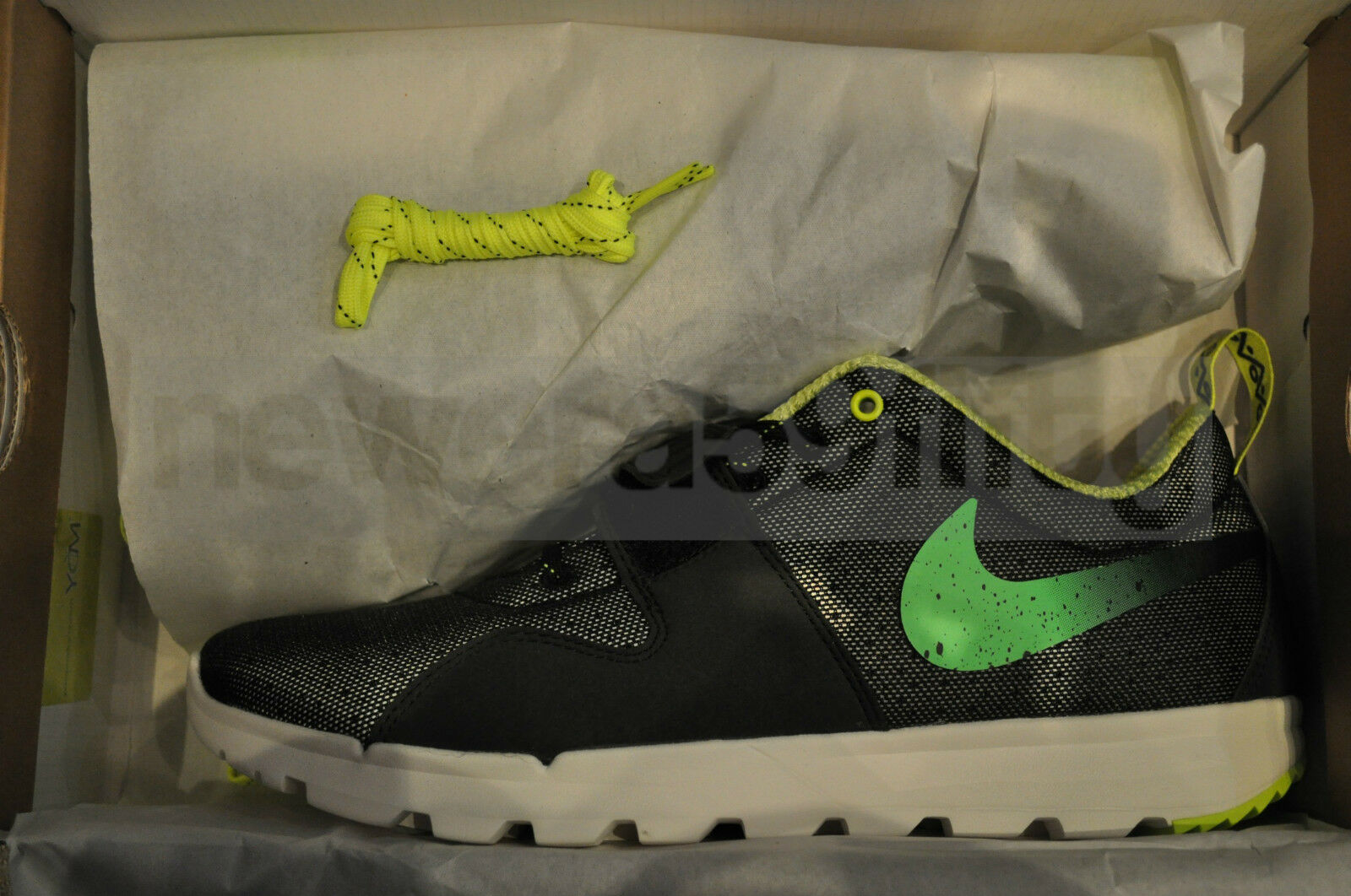 Nike Trainerendor Trainerendor Nike x Stussy - schwarz/Volt-Dark e1e7f2
