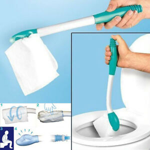 Bottom-Bum-Wiper-Toilet-Incontinence-Aid-Obese-Elderly-Disability-Mobility-UK