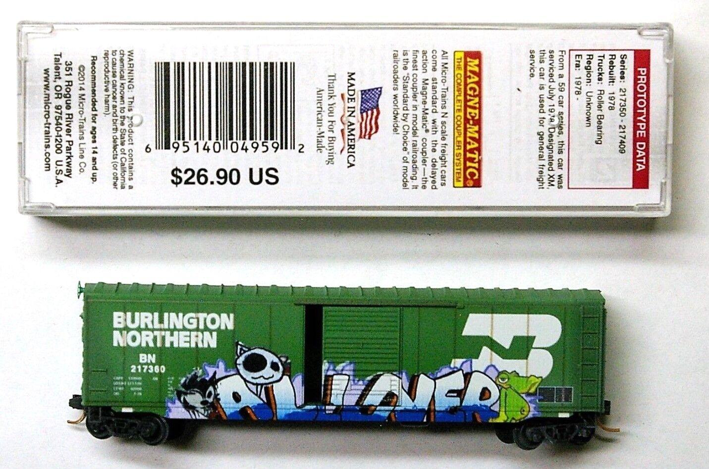 Romantic 50 ´ Standard Boxcar Southern 522635 Micro Trains Line 32240 N 1:160 C Å Freight Cars