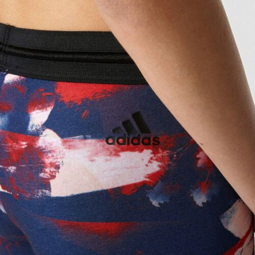 New Adidas Original Flower Women/'s Fitness Tights  SIZE M