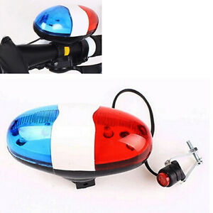 6-LED-Bike-Bicycle-Police-Light-4-Loud-Siren-Sound-Trumpet-Cycling-Horn-Bell-B