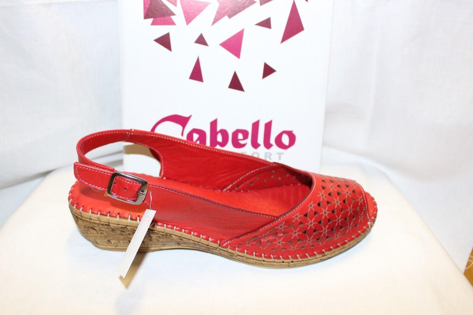Ladies scarpe FOOTWEAR - Cabello sandal RE768 rosso