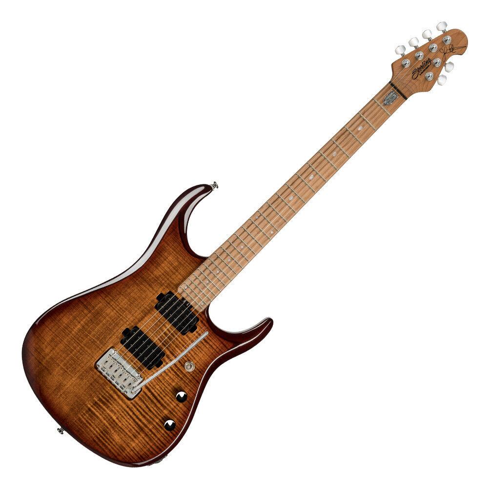 Sterling By MusicMan John Petrucci Signature JP150FM Flame Maple Veneer Top