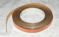 Spool Of .5 Inch Copper Ribbon With Adhesive Back
