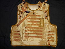 British Army OSPREY MK2 Body Plate Carrier Cover Vest - DESERT DPM Super Grade1