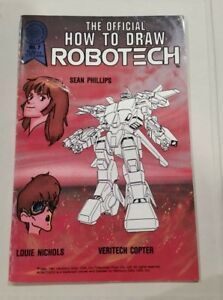 Robotech-The-Official-How-to-Draw-Robotech-7-Comic-Book-vintage