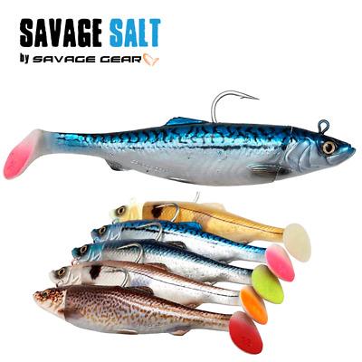 Salty Swim Shad  6 Stück 9,5 cm