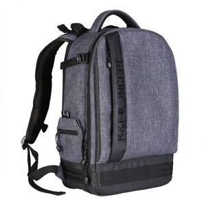 636b1a108f K amp F Concept DSLR Travel Camera Backpack Bag Waterproof Large ...