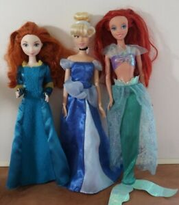 Disney-Princess-Fashion-Dolls-Lot