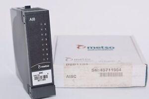 NEW-Metso-Automation-D201134-AI8-Analog-Input-Module-PLC-AI8C-Rev-A