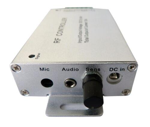 2.4GHZ RGB LED Remote Dimmer Controller RF for 5050 3528 LED Strip Light 12V