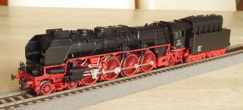Trix 22912 Locomotiva a Vapore Br 08 1001 Kohlenstaub il VES M HALLE Dr Ep.3