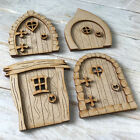 MDF Mini Fairy Door KIT Ready to Decorate 4 NEW Designs to Choose From