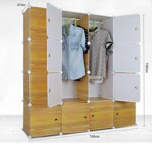 Tri- Plastic Wardrobe Cupboard Almirah -Lkl-80- Wc- Ly