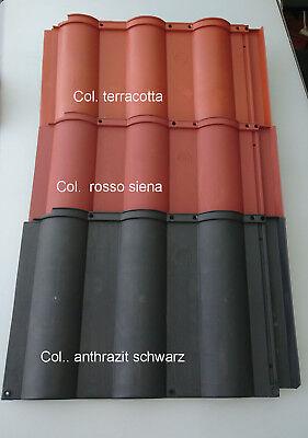 Heimwerker Sonstige Sonderabschnitt Kunststoff Dachziegel Kunststoff Dachpfanne Leichtdachziegel Col Rosso Siena Kann Wiederholt Umgeformt Werden.