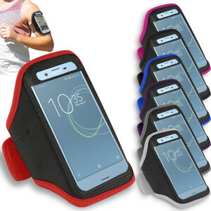 Prime-Gym-Sports-Armband-Running-Jogging-Arm-Case-For-Sony-Xperia-XZ-Premium