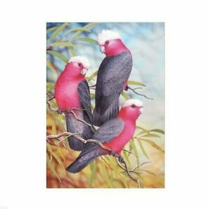 Red-Birds-5D-Full-Drill-Diamond-Painting-Cross-Stitch-Kits-Embroidery-Art-Mural