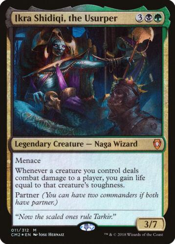 the Usurper FOIL Commander Anthology Volume II NM CARD ABUGames Ikra Shidiqi