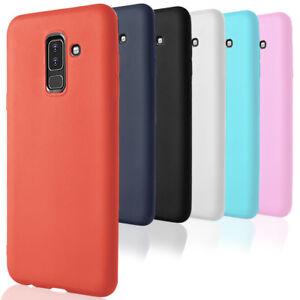 Bumper-pour-Samsung-Galaxy-A6-A6-Plus-2018-Coque-Protection-Souple-Cover-Thin