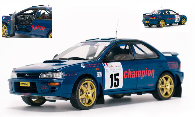 Subaru Impreza  15 3rd Tour De Corse 1996 M. Massarougeto   Y. Bouzat 1 18 Model